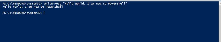 write-host-powershell