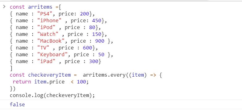 every method in JavaScript